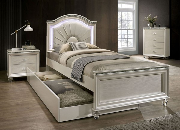 2pc Twin Bed Trundle Allie American Furnishings Dublin